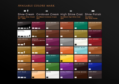 Color chart 2019